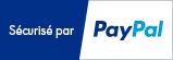 paiement sécurisé par  (CB, VISA, Mastercard, AMEX, virements, etc)