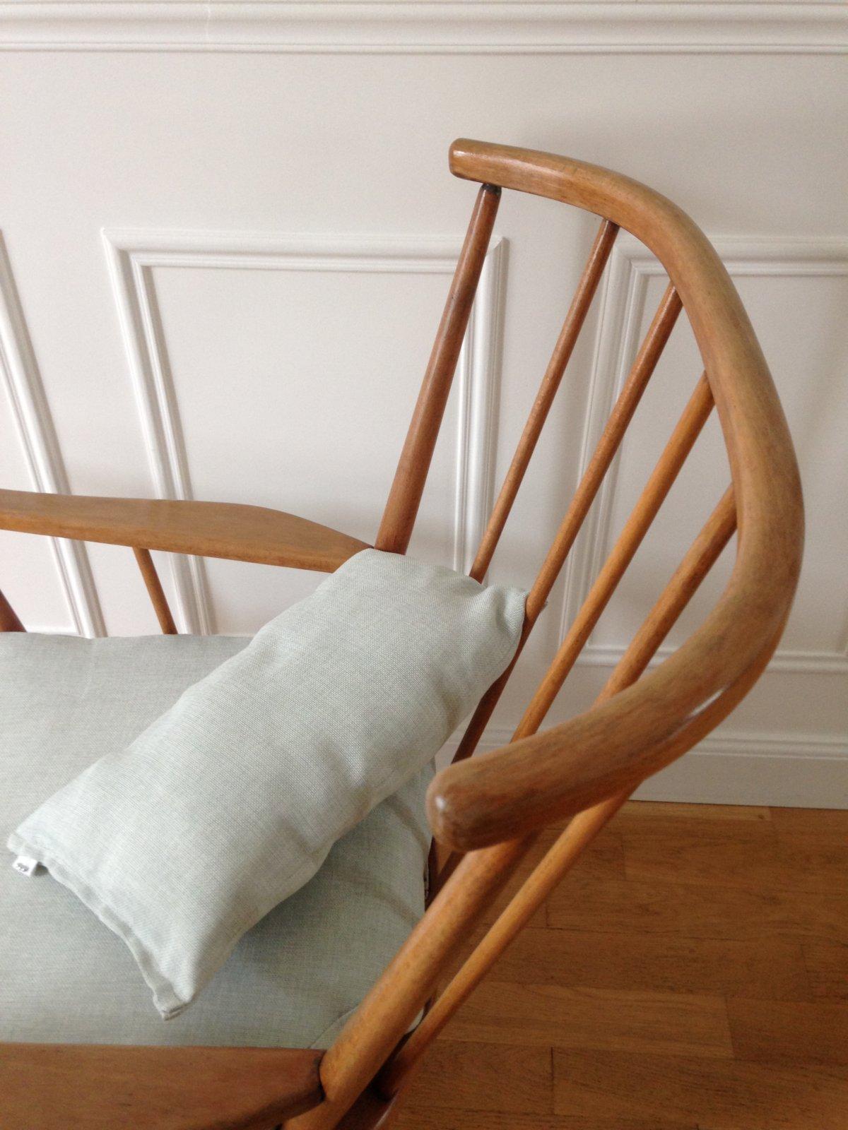 fauteuil baumann ventail ann es 60 vaillant le petit meuble. Black Bedroom Furniture Sets. Home Design Ideas